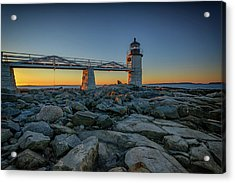 Morning At Marshall Point Acrylic Print