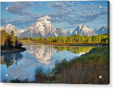 Morning At Oxbow Bend Acrylic Print