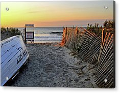 Morning At The Beach Acrylic Print