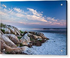 Morning At The Beach Acrylic Print by Tim Kirchoff