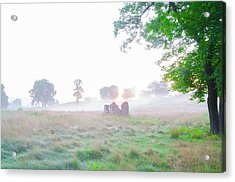 Morning At The Philadelphia Cricket Club - Flourtown Pa Acrylic Print