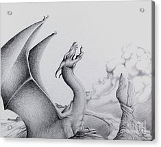 Morning Bellow Acrylic Print by Robert Ball