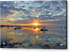 Morning Bliss Acrylic Print by HH Photography of Florida