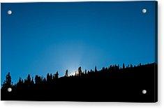 Morning Breaks Acrylic Print by Joseph Smith