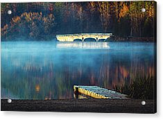Morning Burn Off  Acrylic Print