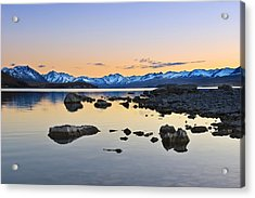 Morning By The Lake Acrylic Print
