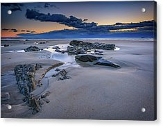 Acrylic Print featuring the photograph Morning Calm On Wells Beach by Rick Berk