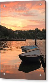 Morning Calm Acrylic Print by Roupen  Baker