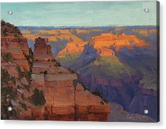 Morning Color - Yaki Point Acrylic Print