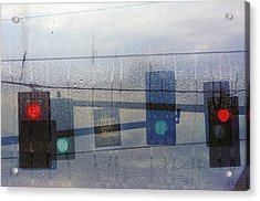 Morning Commute Acrylic Print by Rebecca Cozart