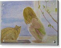 Morning Discover Acrylic Print