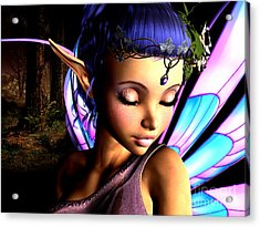 Morning Fairy  Acrylic Print by Alexander Butler