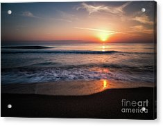 Morning Fire Acrylic Print by Giuseppe Torre