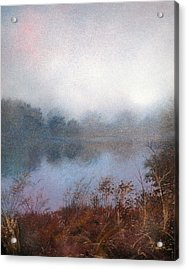 Morning Fog Acrylic Print by Andrew King