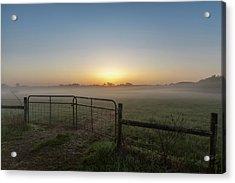 Morning Gate Acrylic Print