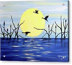Morning Geese Acrylic Print