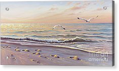 Morning Glisten Acrylic Print