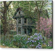 Morning Glory Acrylic Print by Doug Kreuger