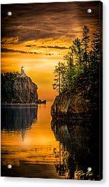 Morning Glow Against The Light Acrylic Print