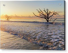 Morning Glow At Botany Bay Beach Acrylic Print