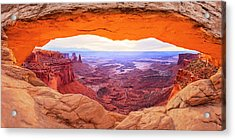 Acrylic Print featuring the photograph Morning Glow by Brad Scott