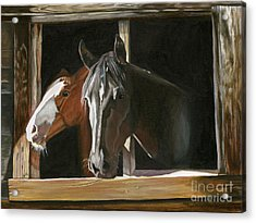 Morning Greeting Acrylic Print