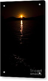 Acrylic Print featuring the photograph Morning Has Broken by Tamyra Ayles