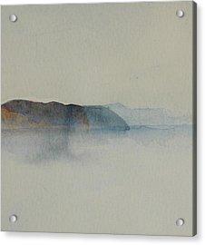 Morning Haze In The Swedish Archipelago On The Westcoast.2 Up To 28 X 28 Acrylic Print