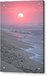 Acrylic Print featuring the photograph Morning Haze by  Newwwman
