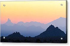 Morning Hues Acrylic Print