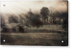 Morning In Boxley Valley Acrylic Print