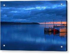 Morning In Cape Breton Acrylic Print by Joe  Ng