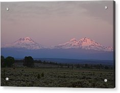 Morning In Central Oregon Acrylic Print