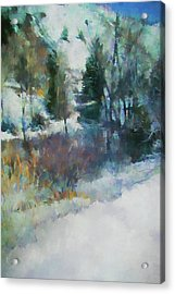 Morning In Colorado Landscape Art By Jai Johnson Acrylic Print by Jai Johnson