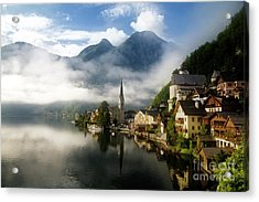 Acrylic Print featuring the photograph Morning In Hallstatt by Scott Kemper