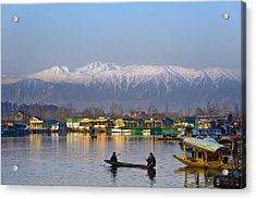 Morning In Kashmir Acrylic Print