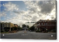 Morning In Murphy North Carolina Acrylic Print