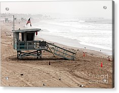 Morning In Santa Monica Acrylic Print by John Rizzuto