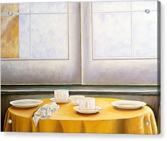 Morning In Sicily Acrylic Print by Gloria Cigolini-DePietro