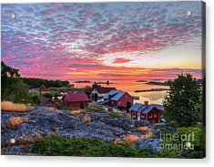 Morning In The Archipelago Sea Acrylic Print