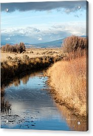 Morning In The Valley Acrylic Print