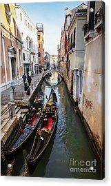 Morning In Venice In Winter Acrylic Print