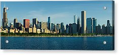 Morning Lakefront Acrylic Print by Donald Schwartz