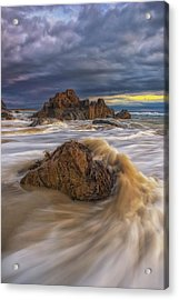Morning Light At Marginal Way Acrylic Print