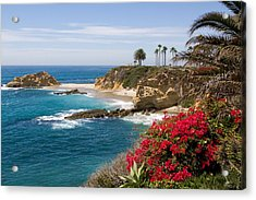 Morning Light Montage Resort Laguna Beach Acrylic Print by Cliff Wassmann