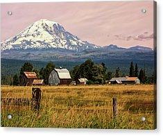 Morning Light On Mount Adams Acrylic Print