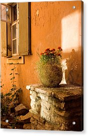 Morning Light Tuscany Acrylic Print