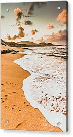 Morning Marine Wash Acrylic Print