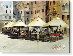 Morning Market Acrylic Print