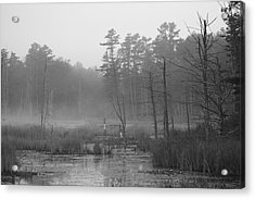 Morning Marsh Acrylic Print